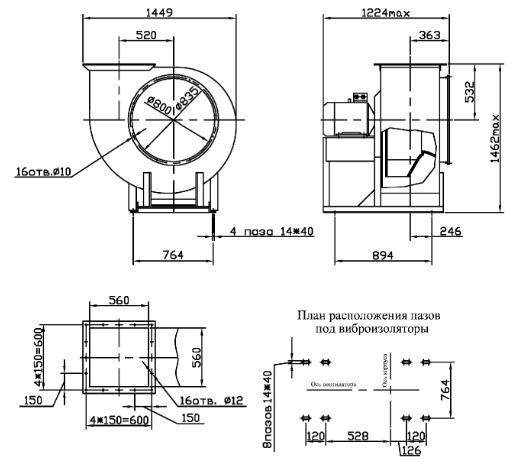 Вентиляция покрасочной камеры, проект, оборудование и монтаж